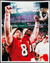 "Steve Young Signed 8x10"" Photograph"