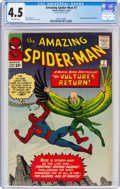 Silver Age (1956-1969):Superhero, The Amazing Spider-Man #7 (Marvel, 1963) CGC VG+ 4.5 Off-white pages....