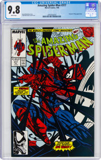 The Amazing Spider-Man #317 (Marvel, 1989) CGC NM/MT 9.8 White pages