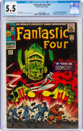 Silver Age (1956-1969):Superhero, Fantastic Four #49 (Marvel, 1966) CGC FN- 5.5 Cream to off-white pages....