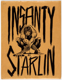 Jim Starlin Insanity Limited Signed and Numbered Portfolio #617/1000 (Middle Earth, 1974)