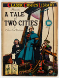 Golden Age (1938-1955):Classics Illustrated, Classic Comics #6 A Tale of Two Cities (Gilberton, 1942) Condition: GD/VG....