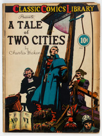Classic Comics #6 A Tale of Two Cities (Gilberton, 1942) Condition: GD/VG