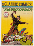 Golden Age (1938-1955):Adventure, Classic Comics #22 (1A) The Pathfinder - First Edition (Gilberton, 1944) Condition: VG/FN....
