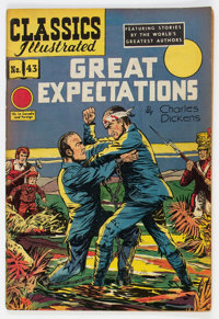Classics Illustrated #43 Great Expectations HRN 62 (Gilberton, 1949) Condition: VG+