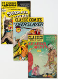 Golden Age (1938-1955):Classics Illustrated, Classics Illustrated Group (Gilberton, 1944-50) Condition: Average VG/FN.... (Total: 12 )