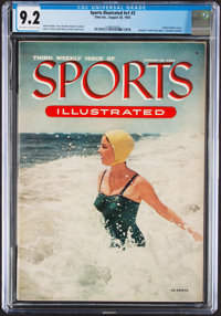 1954 Sports Illustrated First Swimsuit Cover - CGC 9.2 Pop 1 with None Higher