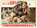 "Movie Posters:James Bond, Thunderball (United Artists, 1965). Folded, Very Fine. Subway (45"" X 59.5"") Advance. Frank McCarthy Artwork.. ..."