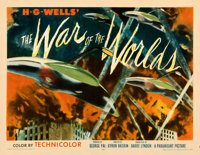 """The War of the Worlds (Paramount, 1953). Fine/Very Fine. Half Sheet (22"""" X 28"""") Style B"""