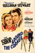 "Movie Posters:Comedy, The Shop Around the Corner (MGM, 1940). Folded, Fine+. One Sheet (27"" X 41""). Style D. From the Mike Kaplan Collection...."