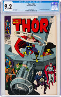 Silver Age (1956-1969):Superhero, Thor #156 (Marvel, 1968) CGC NM- 9.2 White pages....