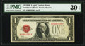 Fr. 1500 $1 1928 Legal Tender Note. PMG Very Fine 30 EPQ