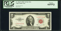 Fr. 1512* $2 1953C Legal Tender Star Note. PCGS Gem New 66PPQ