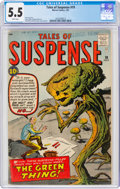 Silver Age (1956-1969):Science Fiction, Tales of Suspense #19 (Marvel, 1961) CGC FN- 5.5 White pages....