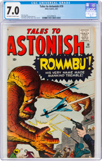 Tales to Astonish #19 (Marvel, 1961) CGC FN/VF 7.0 Off-white to white pages