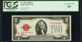 Fr. 1505 $2 1928D Legal Tender Note. PCGS Very Choice New 64