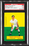 Autographs:Sports Cards, Signed 1964 Topps Stand-Up Rocky Colavito SGC 45 VG+ 3.5, ...