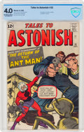 Silver Age (1956-1969):Superhero, Tales to Astonish #35 (Marvel, 1962) CBCS VG 4.0 Off-white to white pages....