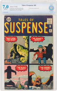 Tales of Suspense #28 (Marvel, 1962) CBCS FN/VF 7.0 Off-white pages