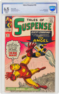 Silver Age (1956-1969):Superhero, Tales of Suspense #49 (Marvel, 1964) CBCS FN+ 6.5 Off-white to white pages....