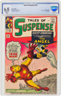 Tales of Suspense #49 (Marvel, 1964) CBCS FN+ 6.5 Off-white to white pages