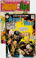 Silver Age (1956-1969):War, Our Army at War #95/Angel and the Ape #1 Group (DC, 1960-68).... (Total: 2 Comic Books)