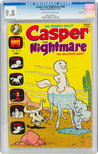 Casper and Nightmare #40 File Copy (Harvey, 1973) CGC NM/MT 9.8 Off-white to white pages
