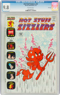 Bronze Age (1970-1979):Cartoon Character, Hot Stuff Sizzlers #59 File Copy (Harvey, 1974) CGC NM/MT 9.8 Off-white pages....