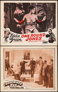 """Movie Posters:Black Films, Four Shall Die & Other Lot (Toddy, R-1946). Very Fine-. Lobby Cards (2) (11"""" X 14"""") Reissue Title: Condemned Men. Black ... (Total: 2 Items)"""