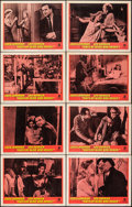 """Movie Posters:Drama, Days of Wine and Roses (Warner Bros., 1963). Very Fine-. Lobby Card Set of 8 (11"""" X 14""""). Drama.. ..."""