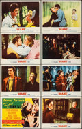 "Movie Posters:Drama, Diane (MGM, 1956). Very Fine+. Lobby Card Set of 8 (11"" X 14""). Drama.. ... (Total: 8 Items)"