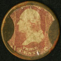 HB-63 EP-38 3¢ Brown's Bronchial Troches Very Fine-Extremely Fine