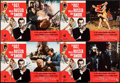 """Movie Posters:James Bond, From Russia with Love (United Artists, R-1970s). Folded, Fine/Very Fine. Italian Photobustas (8) (26"""" X 18.25"""") with Origina... (Total: 9 Items)"""