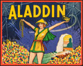 Movie Posters:Miscellaneous, Pantomime Theatre - Aladdin & Other Lot (Taylors Printers, Wombwell, c. 1930). Rolled, Very Fine. UK Theatre Posters (2) (19... (Total: 2 Items)
