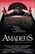 "Movie Posters:Drama, Amadeus (Orion, 1984). Rolled, Very Fine+. One Sheet (25.75"" X 40""). Drama.. ..."
