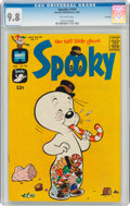 Silver Age (1956-1969):Humor, Spooky #104 File Copy (Harvey, 1968) CGC NM/MT 9.8 Off-white pages....