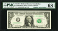 Small Size:Federal Reserve Notes, Repeater 88338833 Fr. 3004-K $1 2017 Federal Reserve Note PMG Superb Gem Unc 68 EPQ.. ...
