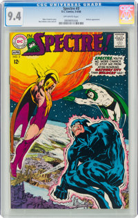 The Spectre #3 (DC, 1968) CGC NM 9.4 Off-white pages