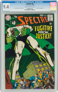 The Spectre #5 (DC, 1968) CGC NM 9.4 Cream to off-white pages