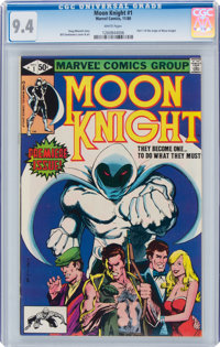 Moon Knight #1 (Marvel, 1980) CGC NM 9.4 White pages