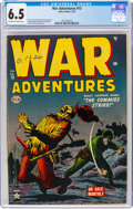 Golden Age (1938-1955):War, War Adventures #13 (Atlas, 1953) CGC FN+ 6.5 Off-white to white pages....
