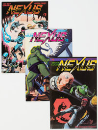 NEXUS V2#1-44 Group (Capitol/First, 1983-88) Condition: Average VF/NM.... (Total: 44 Comic Books)