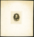 Miscellaneous:Other, Hon. Alex H.H. Stuart Die Proof Vignette.. ...