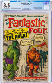 Fantastic Four #12 (Marvel, 1963) CGC VG- 3.5 Off-white to white pages
