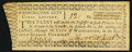 Obsoletes By State:District of Columbia, Washington, DC - Washington City Canal Lottery Lottery Ticket ND (ca. 1796) Choice Crisp Uncirculated.. ...