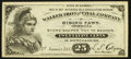 Obsoletes By State:Georgia, Rising Fawn, GA- Walker Iron and Coal Company 25c Jan. 1, 1883 Crisp Uncirculated.. ...