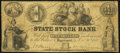 Logansport, IN- State Stock Bank $1 Oct. 20, 1852 Very Good-Fine