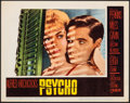 "Movie Posters:Hitchcock, Psycho (Paramount, 1960). Very Fine. Lobby Card (11"" X 14""). Hitchcock.. ..."