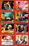 """Movie Posters:Comedy, The Shaggy Dog & Other Lot (Buena Vista, 1959). Fine+. Lobby Card Set of 8 & Lobby Cards (4) (11"""" X 14""""). Comedy.. ... (Total: 12 Items)"""