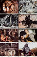 """Movie Posters:Science Fiction, Beneath the Planet of the Apes (20th Century Fox, 1970). Very Fine+. Lobby Card Set of 8 (11"""" X 14""""). Science Fiction.. ... (Total: 8 Items)"""